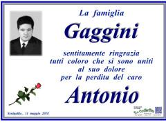 Morte Antonio Maggini, ringraziamenti famiglia