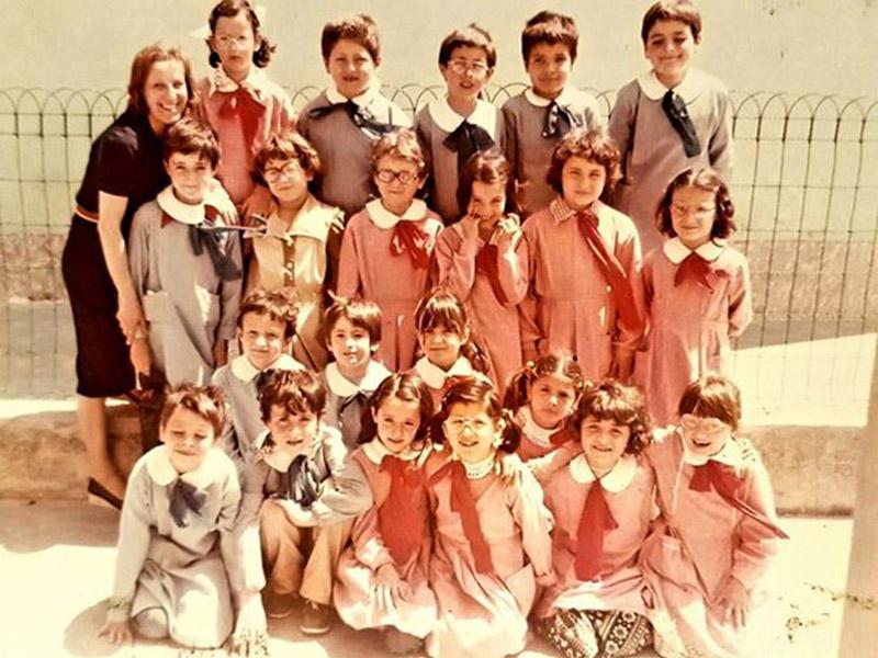 Classe V A 1981/82 Scuola Cesanella