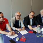 Unione del Buon Governo 2020: Canestrari, Rebecchini, Paradisi, Berardinelli