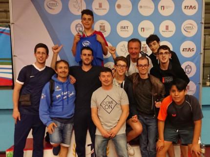 Nicolò Pierpaoli ha vinto l'oro nella gara individuale