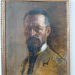 Autoritratto di Corrado Gabani, pittore dell'800 e '900