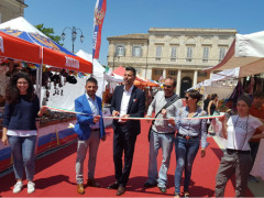 Taglio del nastro a Senigallia per il Mercato Europeo Ambulante 2018