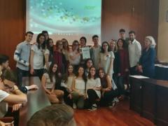 """Premiato progetto promosso dagli studenti del liceo classico """"Perticari"""""""