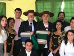 I prof. Lombardi e Serritelli in Cile per lo scambio culturale del Panzini