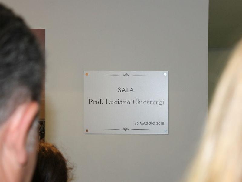 Intitolazione Sala Chiostergi all'IIS Panzini di Senigallia