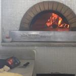 Antica Trattoria da Marion: il forno a legna della pizzeria sul lungomare di Senigallia