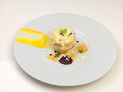 Mango, caprino & pecorino - ricetta di Marco Sabatini