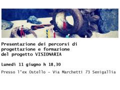 Visionaria: presentazione percorsi di progettazione e formazione