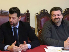 Maurizio Mangialardi e Enzo Monachesi