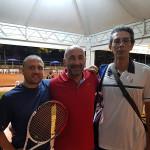 Marco Pettinari e i giocatori del Torneo Pettinari 2018