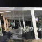 Nuova struttura ombreggiante a Le Coco Beach