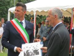 Mangialardi omaggia il capo della polizia Franco Gabrielli