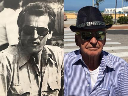Paolo Abbruciati nel 1975 e nel 2018