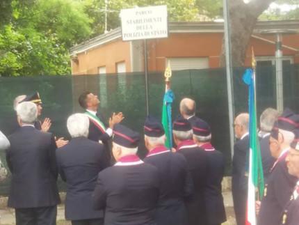 Senigallia omaggia gli Stabilimenti della Polizia con un parco