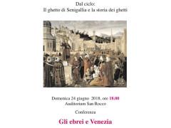 Gli ebrei a Venezia - conferenza dell'associazione Il Salotto