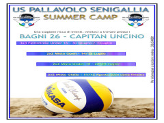 Summer Camp Us Pallavolo Senigallia