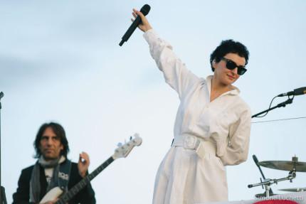 CaterRaduno: Arisa in concerto all'alba a Senigallia - foto di Simone Luchetti