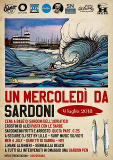 Un Mercoledì da Sardoni - locandina
