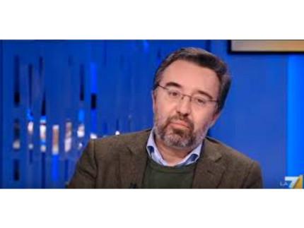 Il direttore dell'Espresso Marco Damilano