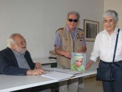 Emanuela sforza ha incontrato al musinf Giorgio Pegoli