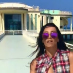 Francesca Maria nella clip di Jambo Funkey girata a Senigallia
