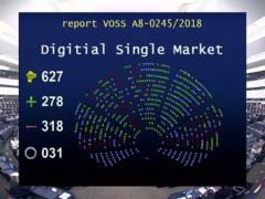 Il voto del Parlamento UE contro la riforma del copyright