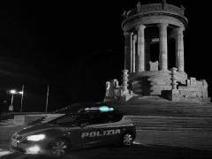 Polizia al Passetto di Ancona