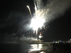 Fuochi d'artificio nella Notte della Rotonda