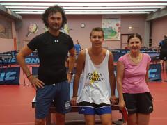 A Lorenzo Fiorentini e Giovanna Giordani il 2° torneo Mare-PingPong