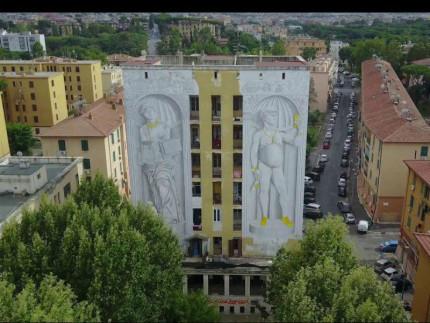 Opera di Blu a Roma