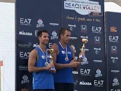 Dal Molin - Cecchini secondi nella tappa di Cervia del campionato italiano beach volley 2018