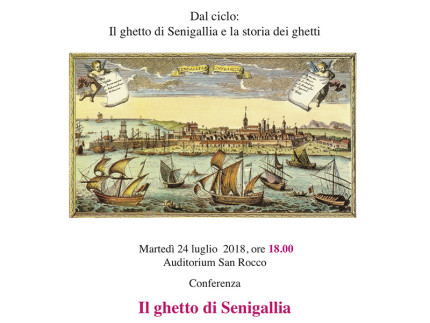 "Conferenza ""Il ghetto di Senigallia"""