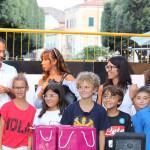 I ragazzi della scuola montessoriana di Scapezzano di Senigallia alla Festa del Rione Porto