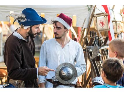 Rievocazioni medievali alla Festa Castellana di Scapezzano di Senigallia