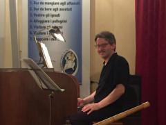 Nicola Cittadin al Festival Organistico a Corinaldo