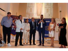 Presidenti dei club service di Senigallia con il sindaco Mangialardi