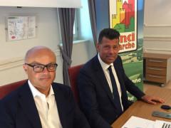Edoardo Gugliotta e Maurizio Mangialardi