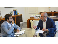 Antonio Mastrovincenzo e Angelo Davide Galeani