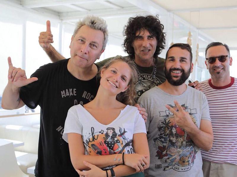 Ringo e Cesare Petricich al Summer Jamboree 2018 - foto Beatrice Perticaroli