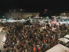 Summer Jamboree 2018 - piazza del Duca affollata per l'ultima giornata di prefestival