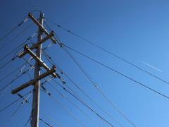 Traliccio della rete elettrica Enel