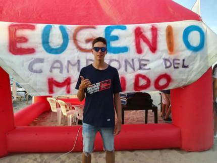 Festa all'AVS per il campione del mondo Eugenio Marconi