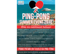 Ping Pong Summer event 2018