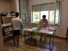 Volontari da Bergamo al Centro Solidarietà di Senigallia