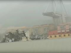 Crollo del viadotto Morandi a Genova