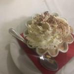 Dessert del ristorante pizzeria Il Tucano di Senigallia