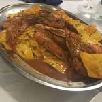 Ravioli ricotta e tartufo con mazzancolle e scampi del ristorante pizzeria Il Tucano di Senigallia