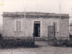 Scuola di Pianello di Ostra inaugurata nel 1900 e intitolata a Oberdan