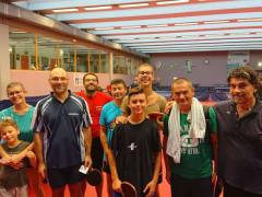 Torneo Mare-Pingpong al Centro Olimpico Tennistavolo Senigallia