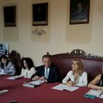 Adriana Siena, Patrizia D'Ambrosio, Anna Scimone e Fulvia Principi: dirigenti scolastiche